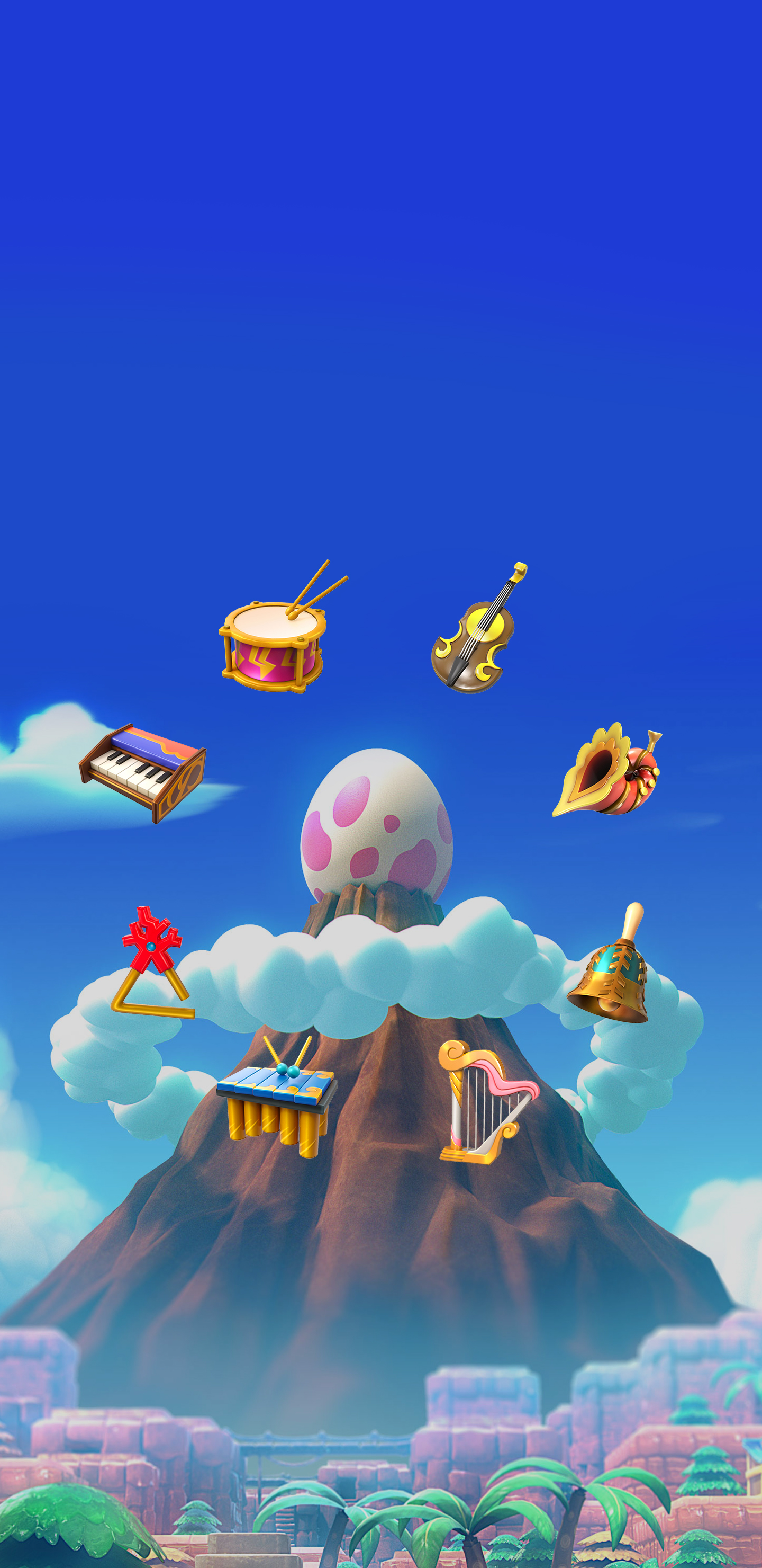 The Legend Of Zelda Link S Awakening Instruments Of The Sirens Wallpaper Cat With Monocle