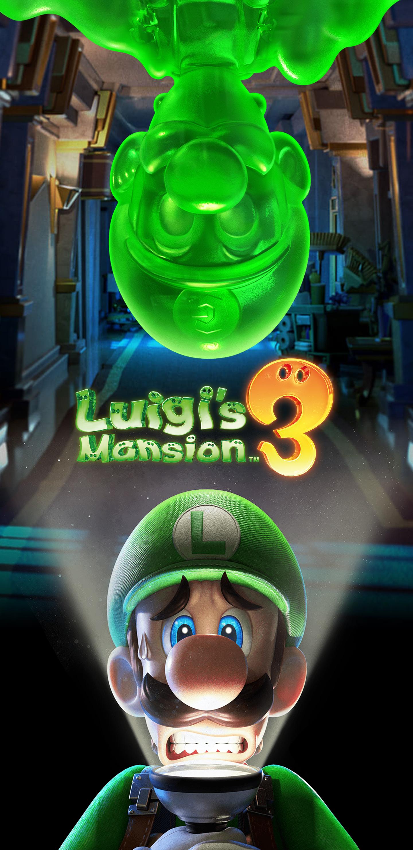 luigi s mansion 3 cover art wallpaper