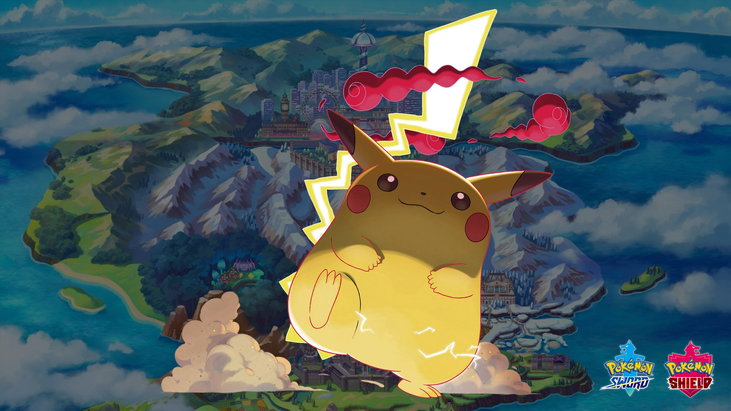 Pokemon Sword And Shield Gigantamax Pikachu Wallpapers Cat With