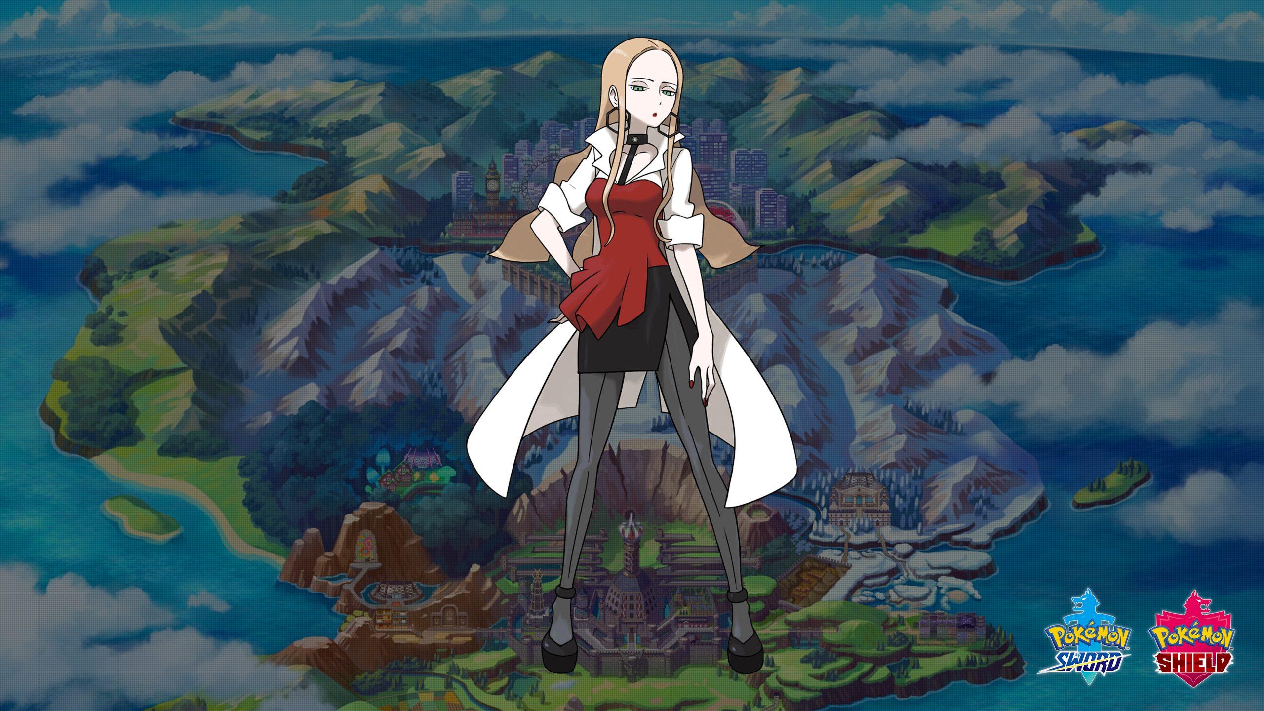 Pokemon Sword and Shield Oleana Wallpapers