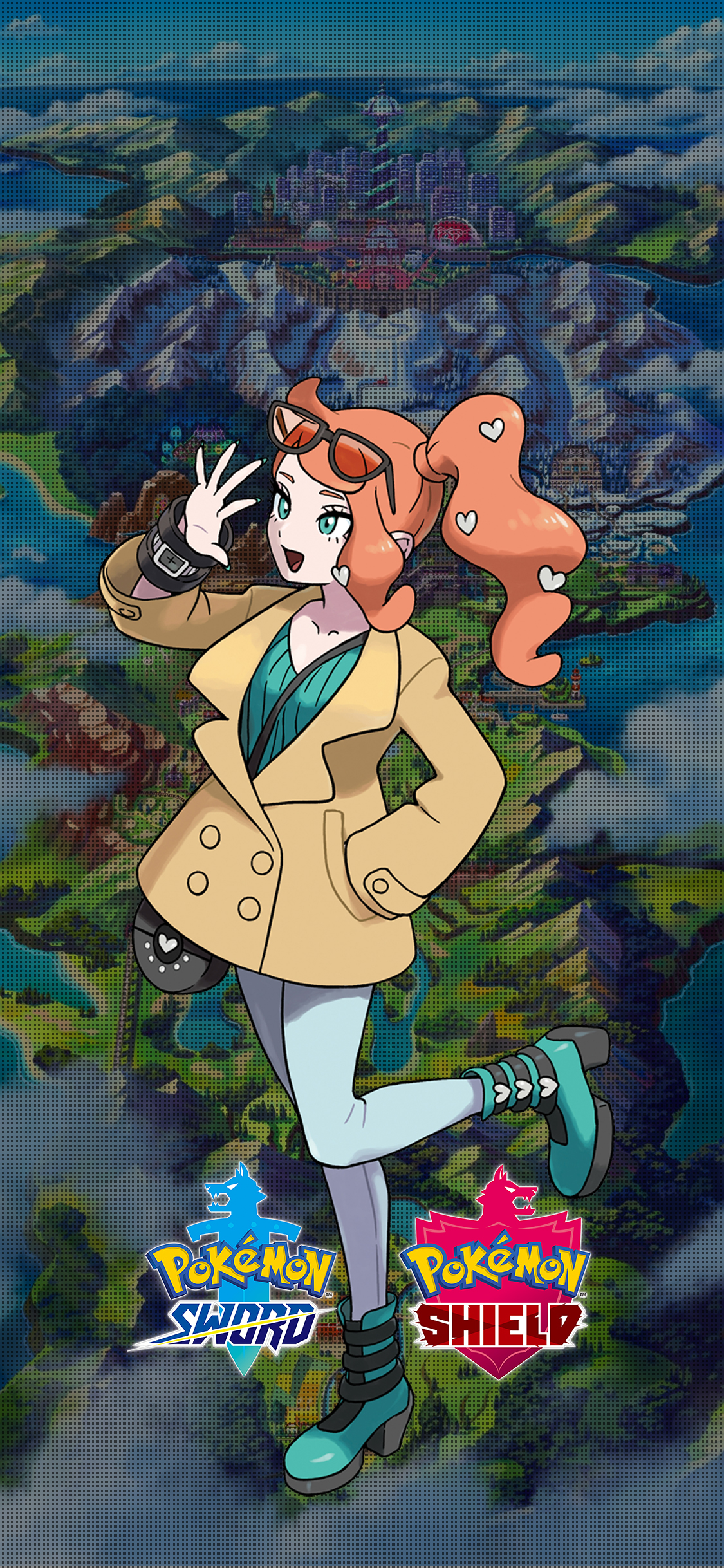 Pokemon Sword And Shield Sonia Wallpapers