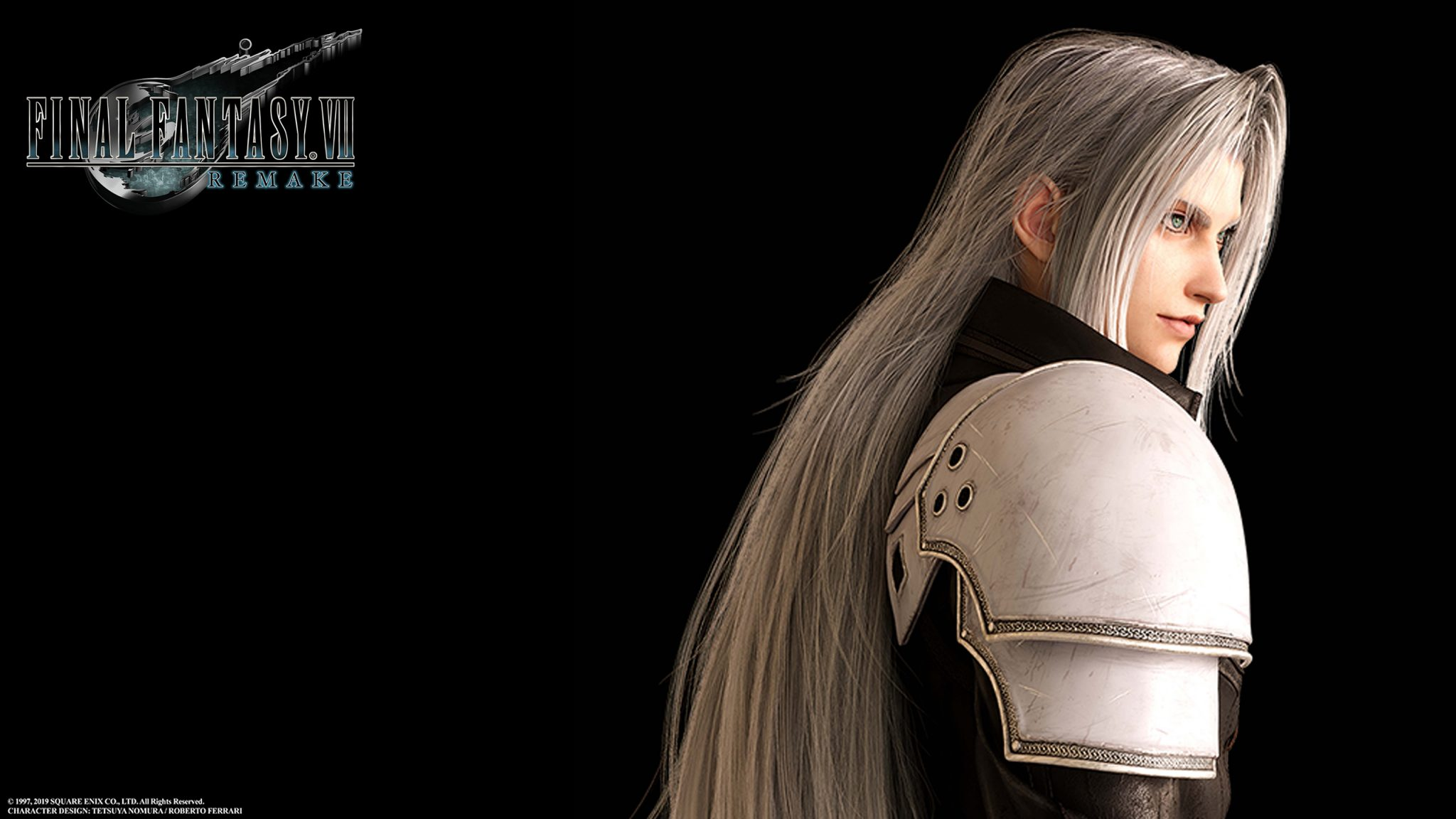 Final Fantasy Vii Remake Sephiroth Wallpaper Cat With Monocle