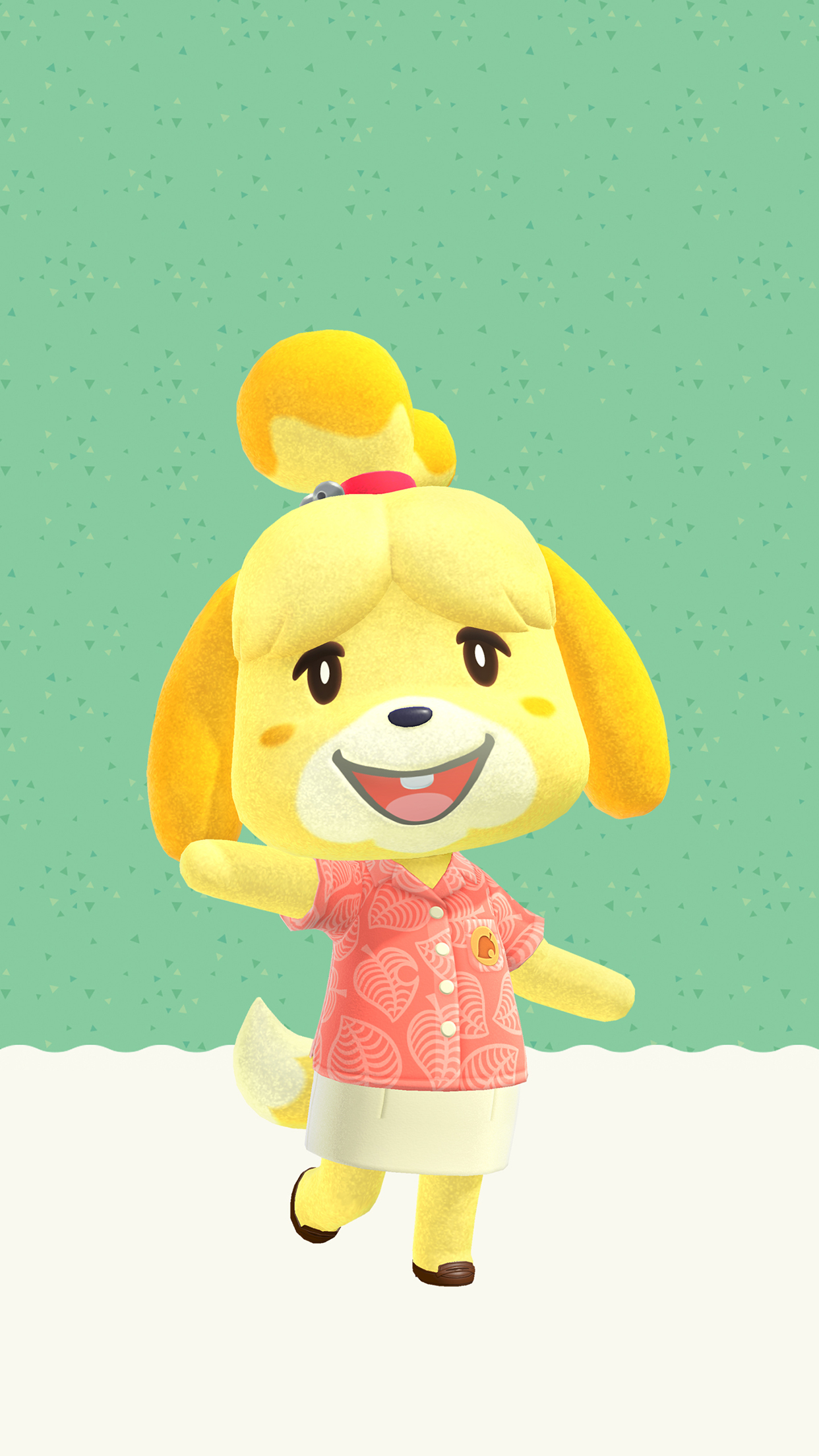 Animal Crossing New Horizons Isabelle Wallpaper   Cat with ...