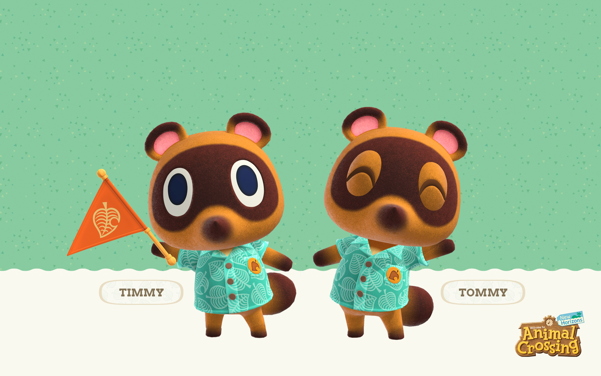 Animal Crossing New Horizons Timmy And Tommy Wallpaper Cat With