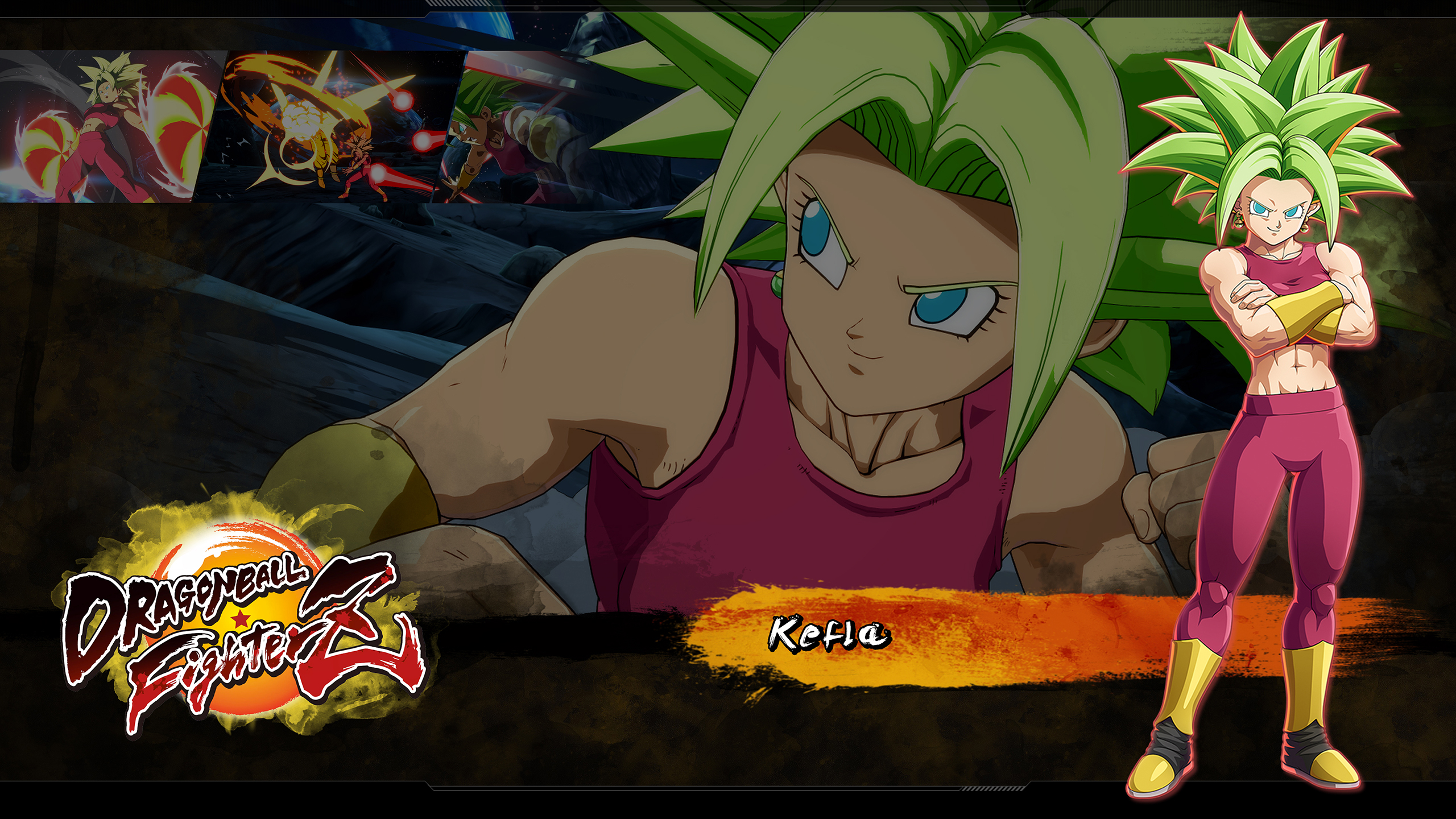 Dragon Ball Fighterz Kefla Wallpapers Cat With Monocle