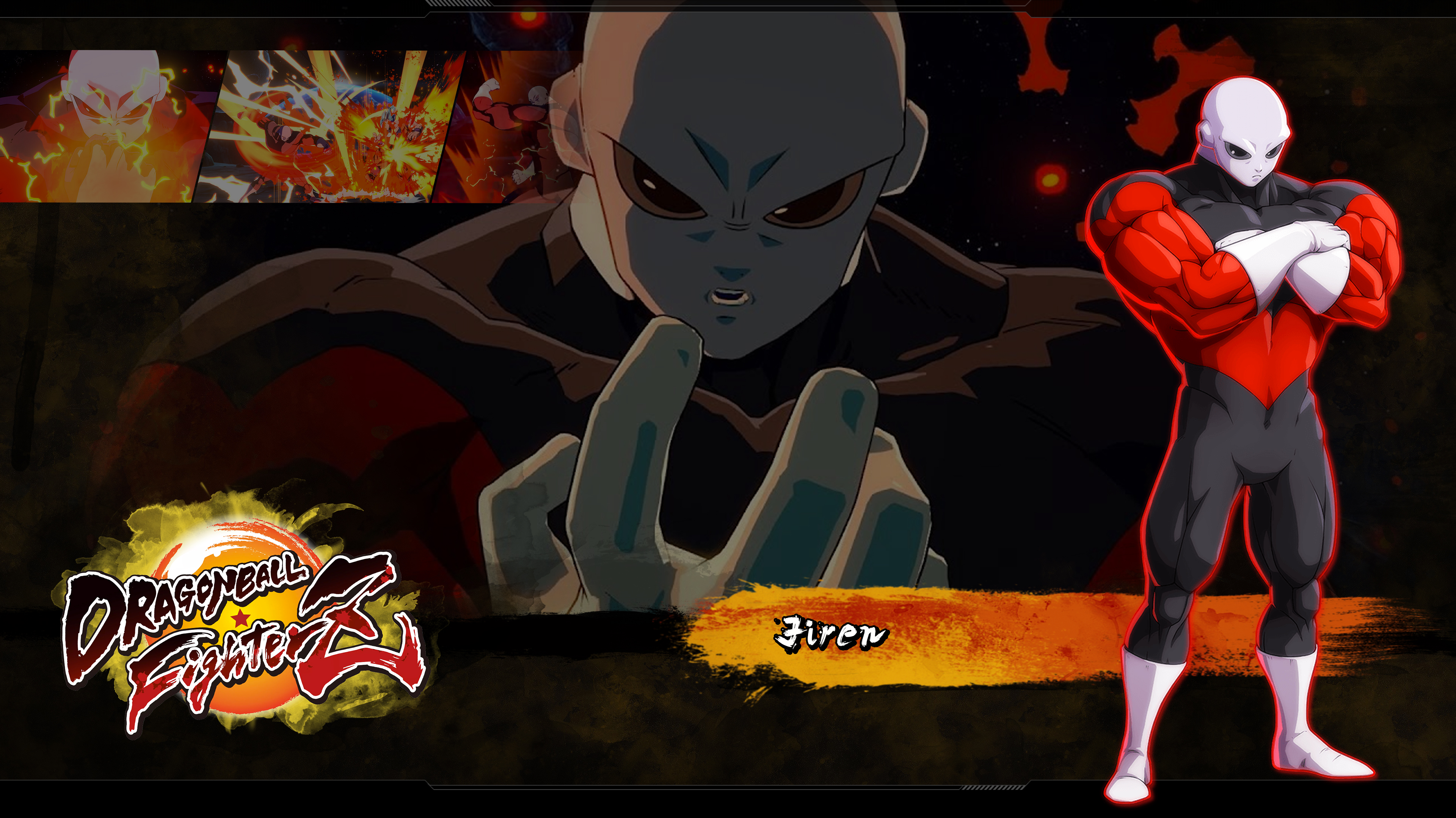 Dragon Ball Fighterz Jiren Wallpapers Cat With Monocle
