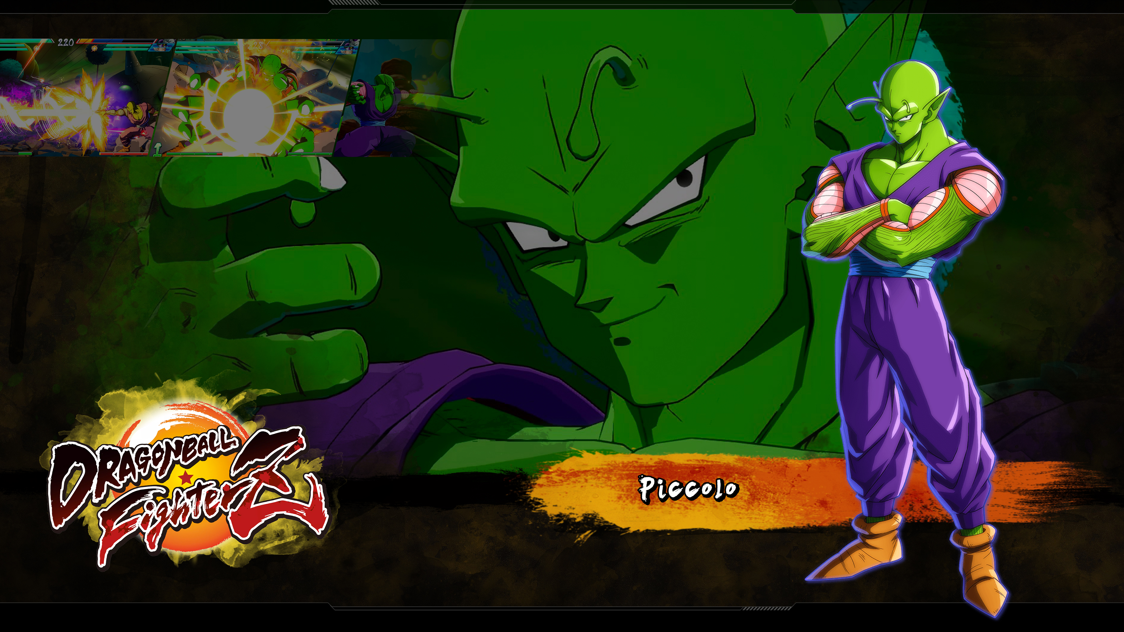 Dragon Ball Fighterz Piccolo Wallpapers Cat With Monocle