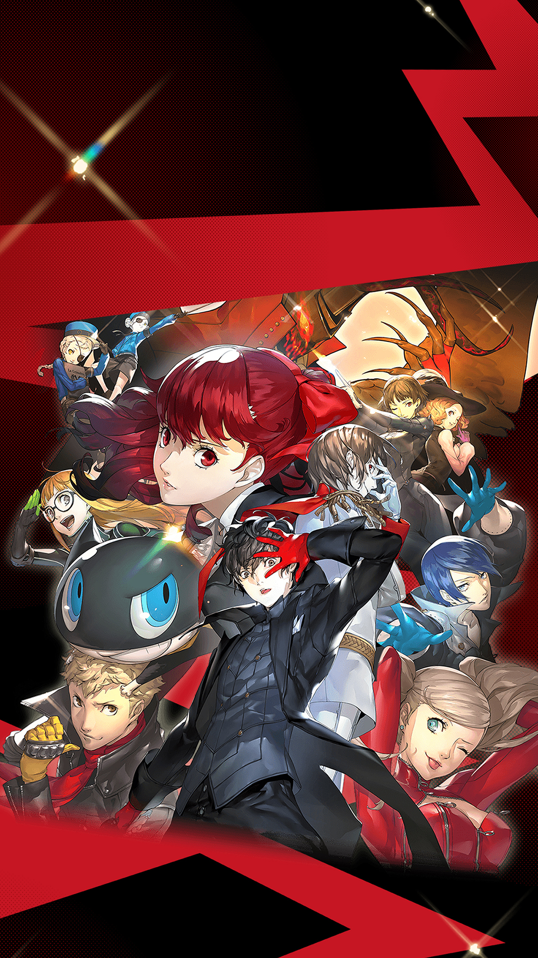 Persona 5 Royal Artwork Wallpaper   Cat with Monocle