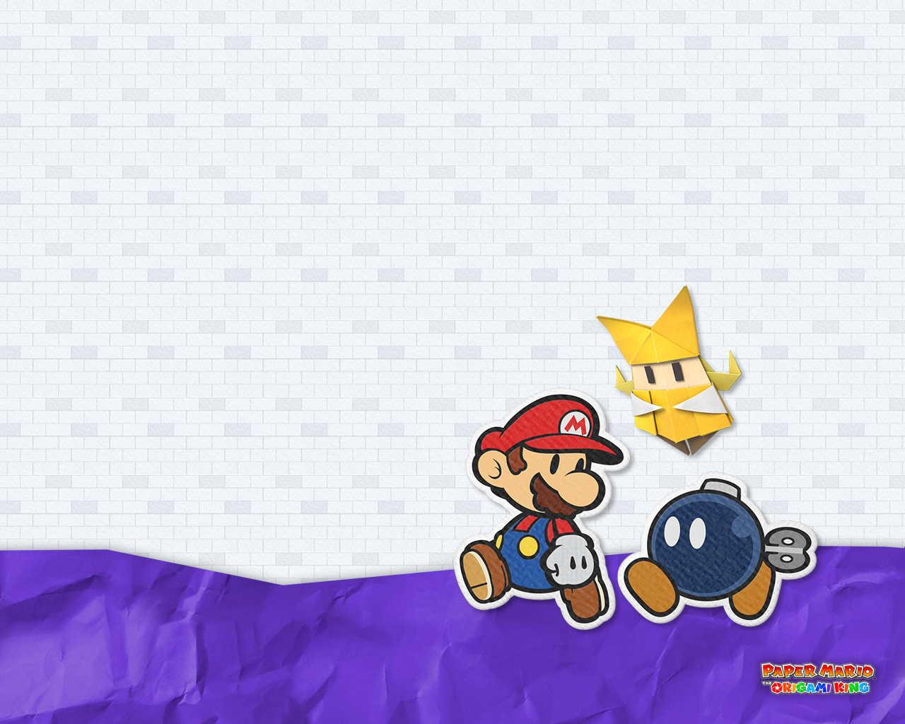 Paper Mario The Origami King Team Wallpaper Cat With Monocle
