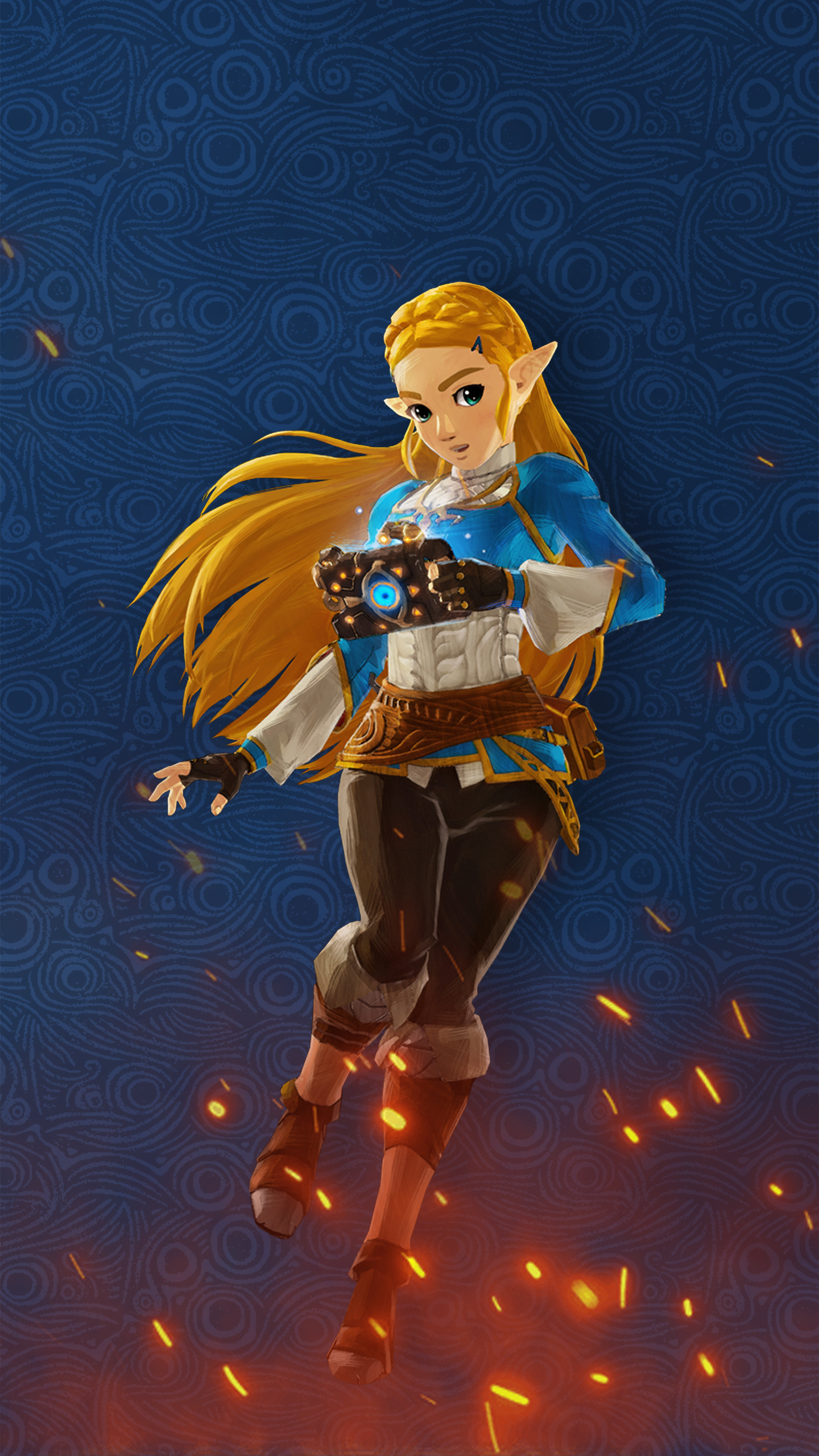 Hyrule Warriors Age Of Calamity Zelda Wallpaper Cat With Monocle