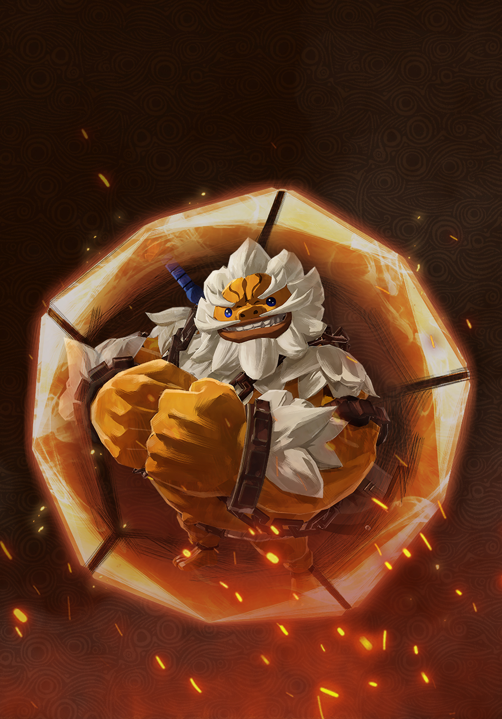 Hyrule Warriors Age Of Calamity Daruk Wallpaper Cat With Monocle