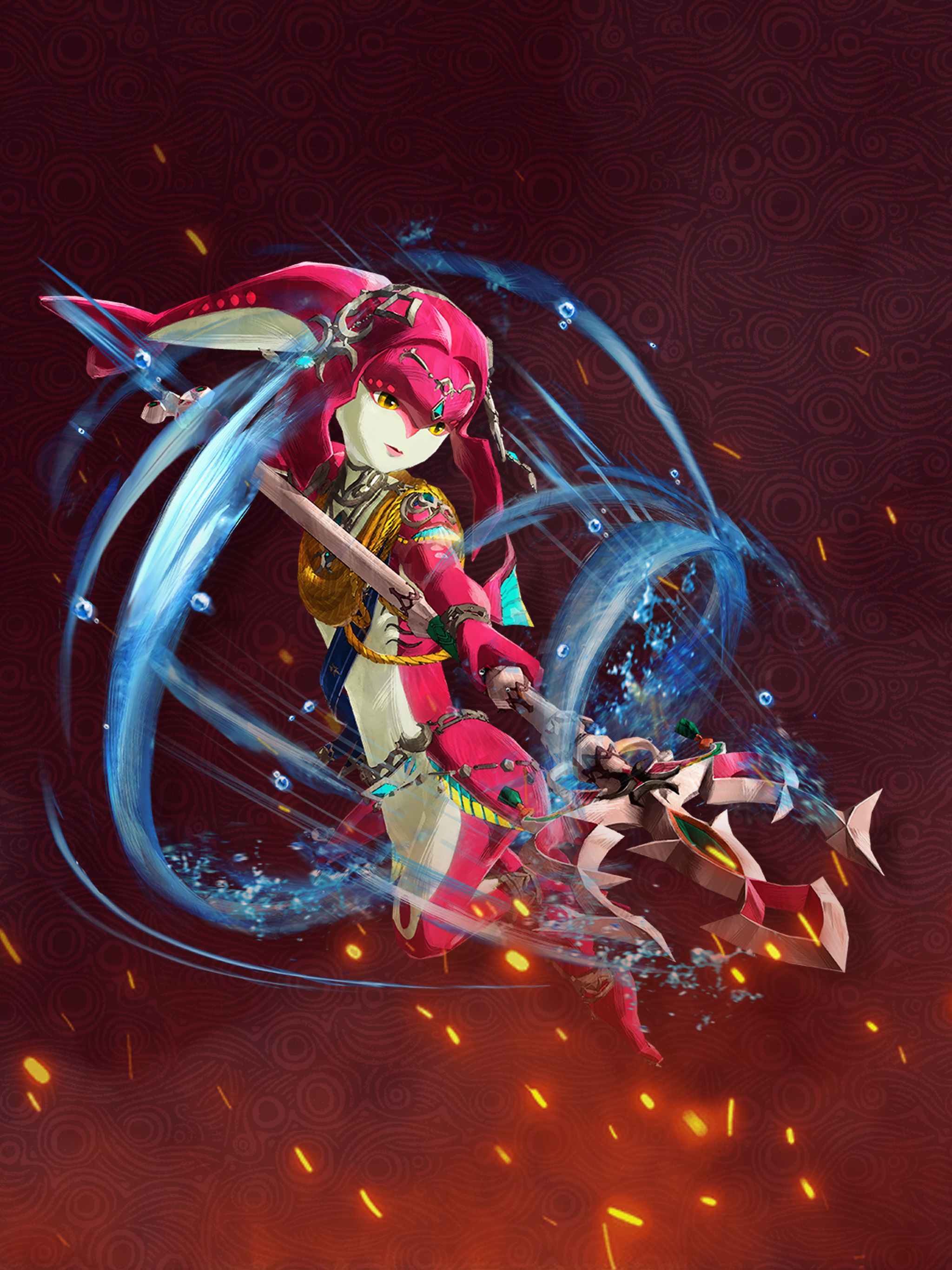 Hyrule Warriors Age Of Calamity Mipha Wallpaper Cat With Monocle